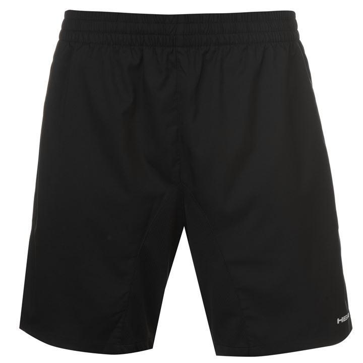 a541d58578b HEAD Club M мъжки шорти за тенис на корт Shorts Mens полиестер черни  оригинални ниска цена промоция
