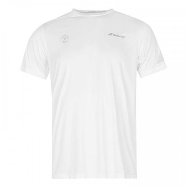 Babolat бяла мъжка тениска за Уимбълтън и Тенис