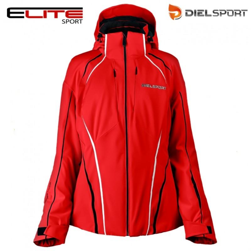 6a1bf06fd0e DIEL SPORT BETSY 27641 F дамско яке за ски Диел спорт червено 20000 мм  воден стълб четирипосочен супер стреч нова колекция сезон 2016 2017
