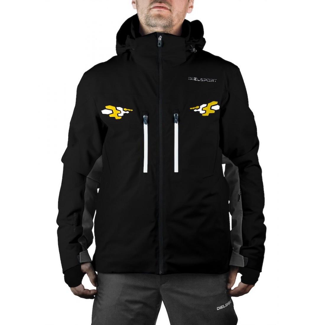 8310c2319eb DIEL SPORT BRUCE2 177432 A Мъжко яке за ски Диел Спорт нова колекция сезон  2017 2018 20000 мм воден стълб черно