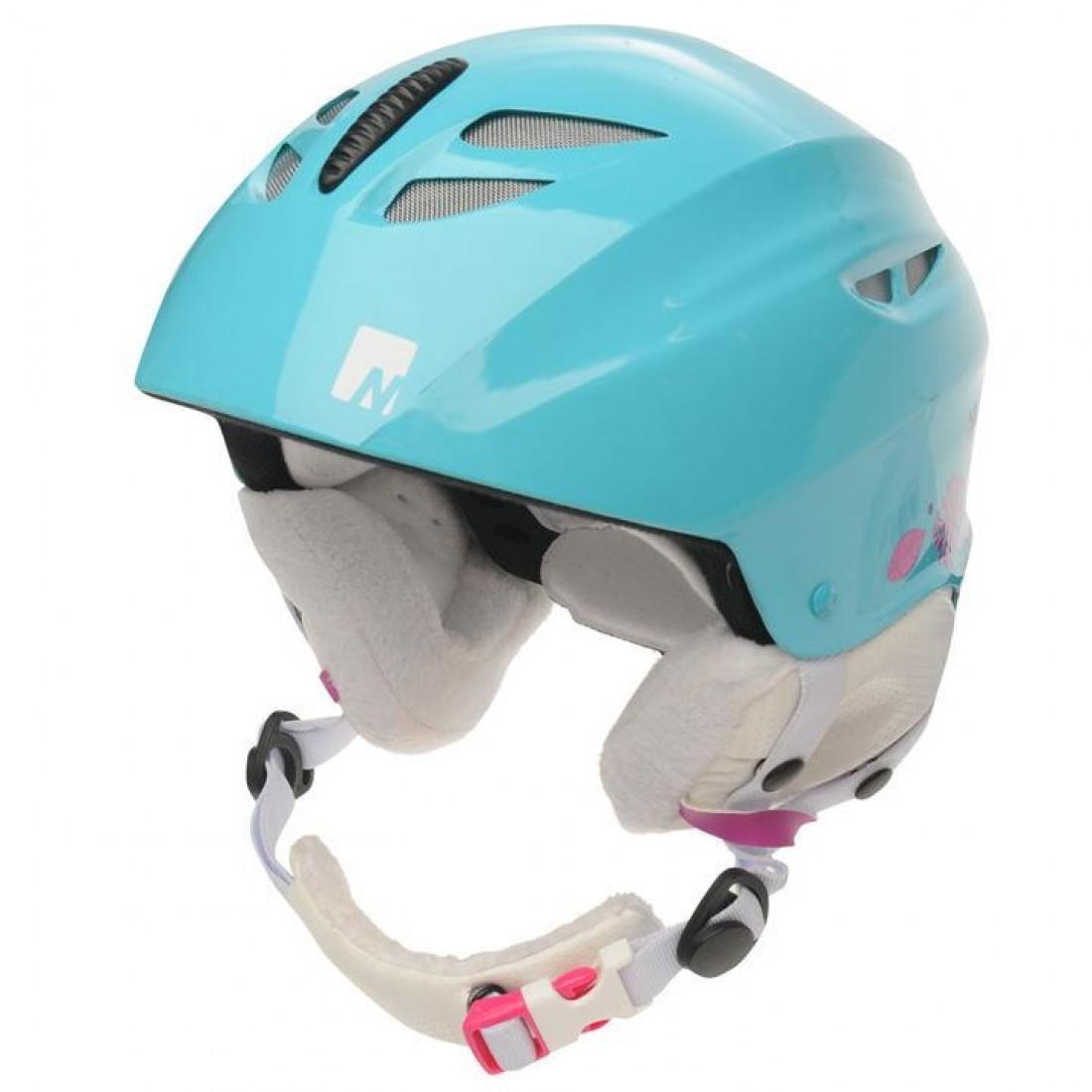 cc39cc8a912 Nevica Meribel детска юношеска каска за ски скиорска HelmetGl светло синя  регулируема размер 50 - 54 см