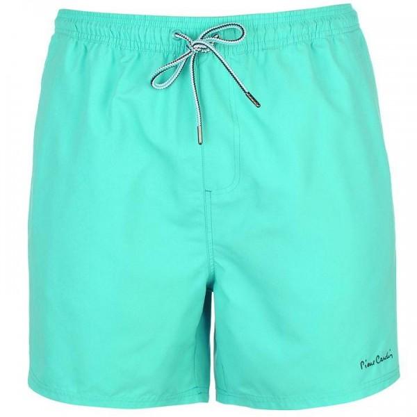 Pierre Cardin Swim Shorts Mens мъжки шорти спортни за плуване плувни полиестер с джобове зелени мента