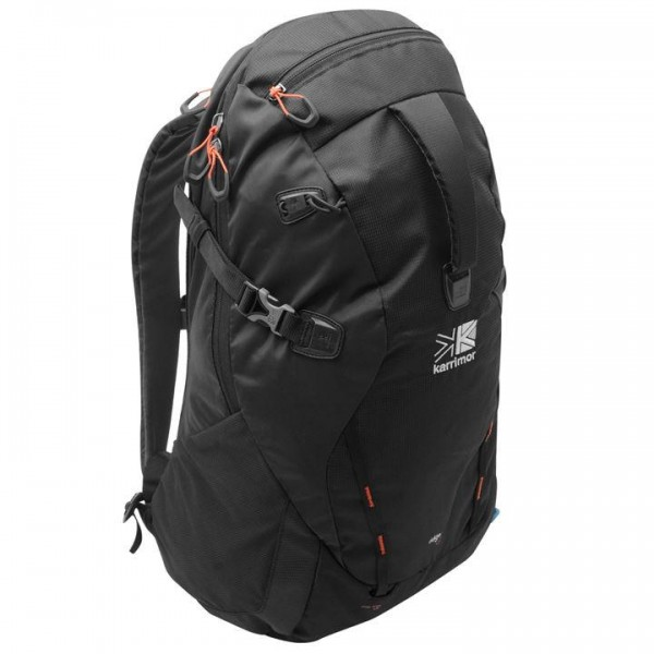 Karrimor Ridge 30 раница 30 литра Backpack туристическа черна Каримор