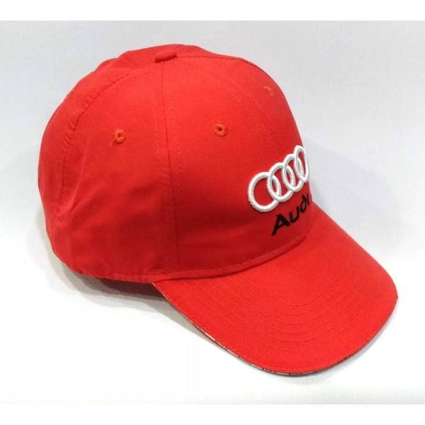 Audi бейзболна шапка Ауди червена