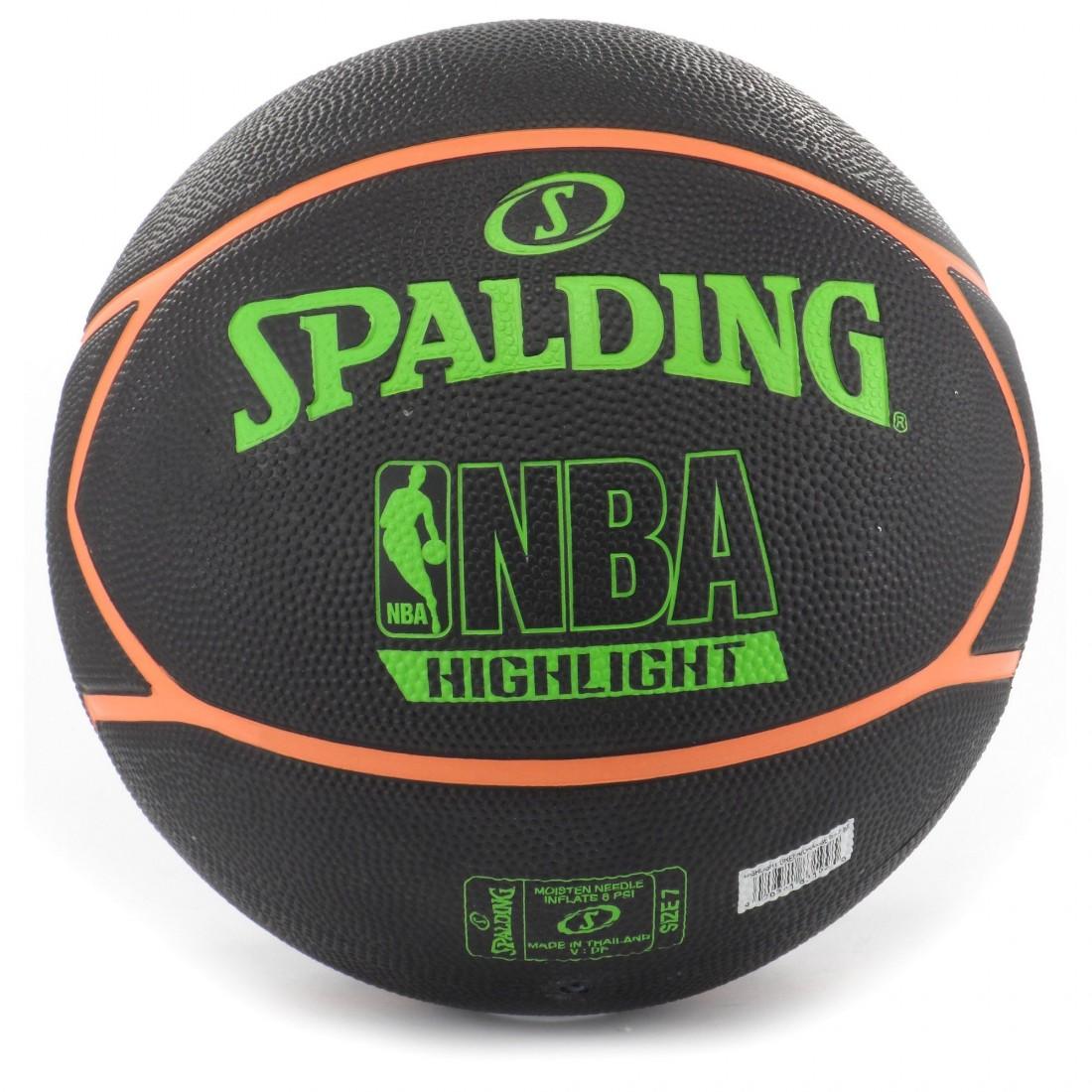 eeaa6ce89ef SPALDING Neon Highlite гумена баскетболна топка Спалдинг за зала ...
