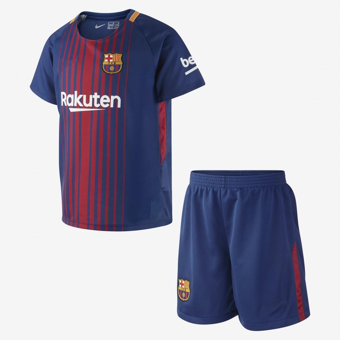 2ea42453e96 детски футболен екип на Барселона 2017 2018 домакински Барса Неймар Джуниър