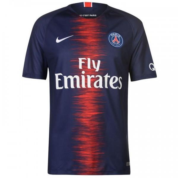 Nike Paris St Germain мъжка футболна тениска Найк Париж Сен Жармен ПСЖ 2018 2019 домакинска нов сезон оригинална