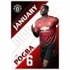 Manchester United FC официален календар на Манчестър Юнайтед за 2019 година