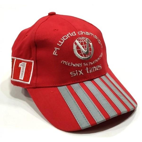 Ferrari бейзболна шапка Ферари Формула 1 червена с козирка