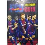 c3015595012 Barcelona FC Барселона официален календар 2018 за фенове на отбора фен  артикул сувенир