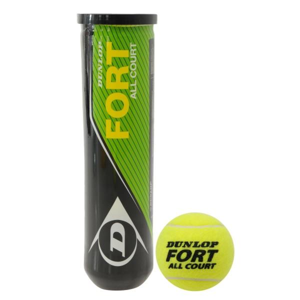 Dunlop Fort топки за тенис на корт 4 броя