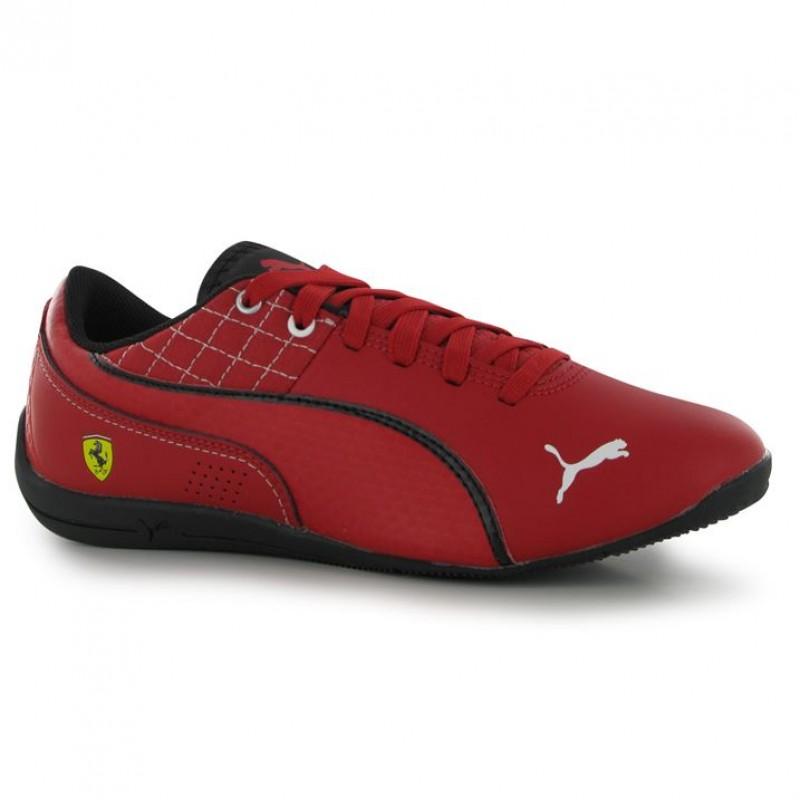 8cf42ee1afe Puma D Cat мъжки маратонки естествена кожа червени