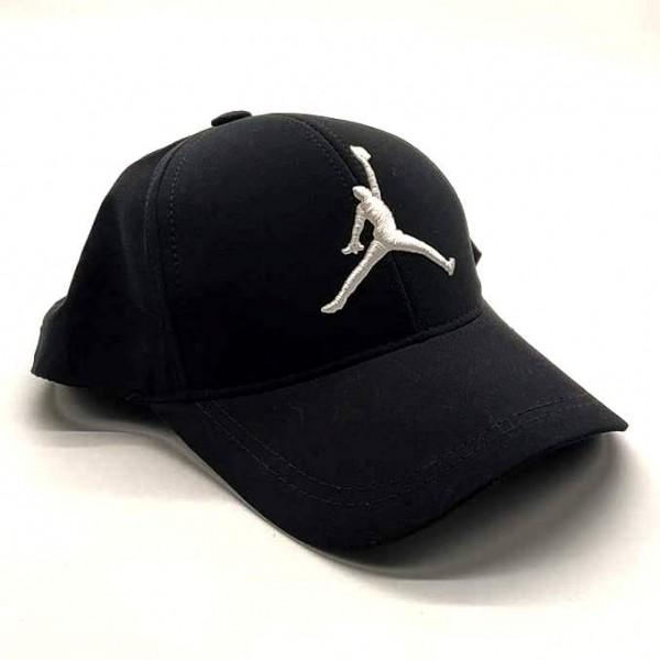 Air Jordan бейзболна шапка с козирка черна