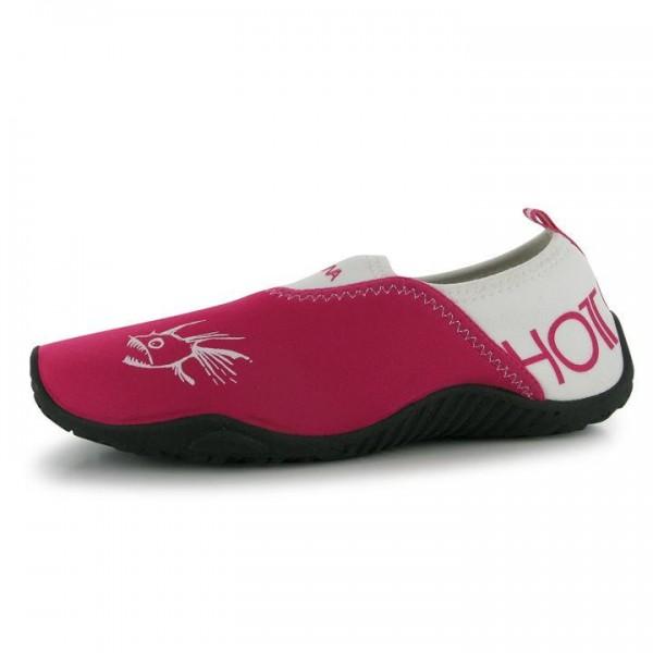 Hot Tuna дамски юношески детски водни обувки розови бели сплашери
