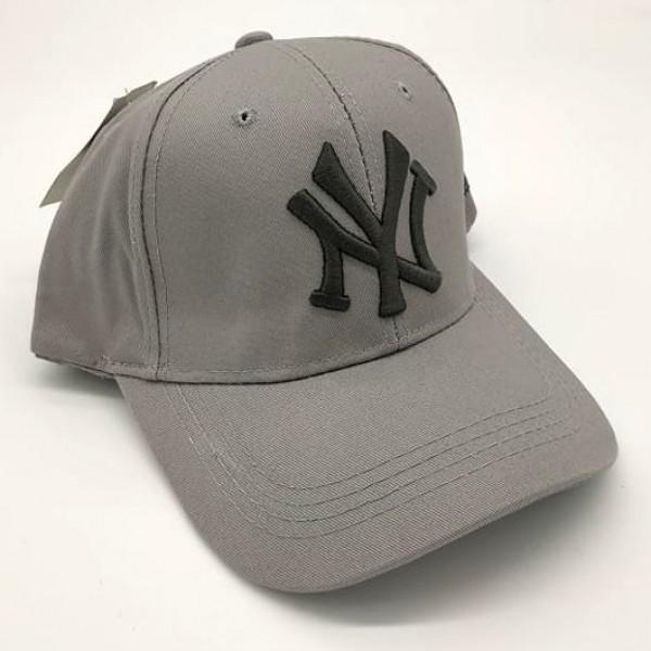 New York бейзболна шапка Ню Йорк памук сива