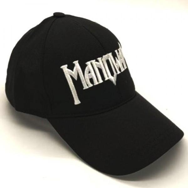 MANOWAR бейзболна шапка черна с козирка