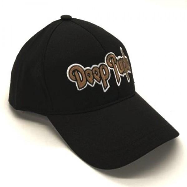 Deep Purple бейзболна шапка с козирка черна