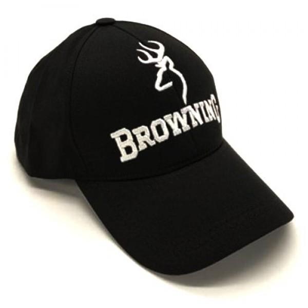 Browning бейзболна шапка черна с козирка
