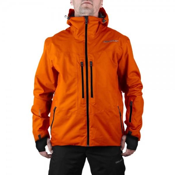 DIEL SPORT Damon 17769 C Мъжко яке за ски сноуборд 10000 мм воден стълб оранж