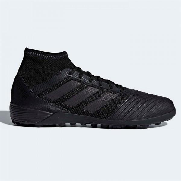 adidas Predator Tango 18.3 мъжки стоножки Адидас от естествена кожа футболни обувки за изкуствена трева черни оригинални