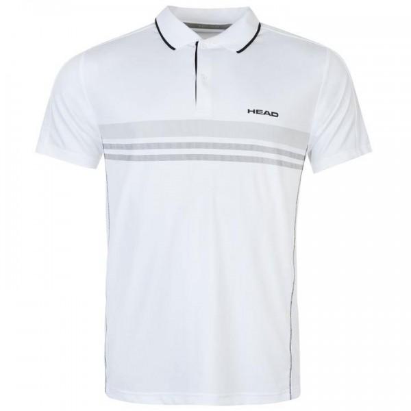 HEAD Club M мъжка спортна тениска за тенис на корт Polo Mens  оригинална бяла