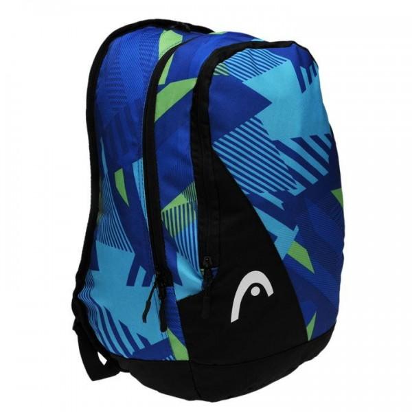 HEAD Fusion Backpack 72 раница за училище разходка спорт туристическа оригинална синя зелена черна