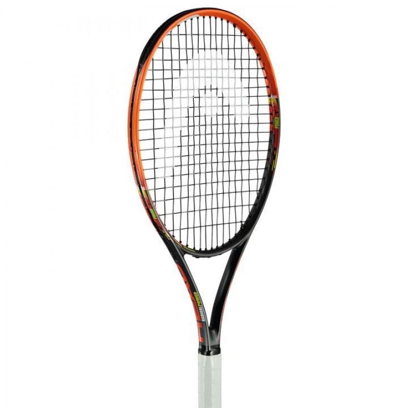 23037866ae6 HEAD Radical Power Tennis Racket тенис ракета Хед висок клас оригинална за  тенис на корт черна оранжева L4