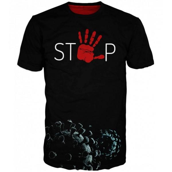 Мъжка тениска COVID-19