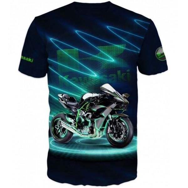 Мъжка тениска Kawasaki